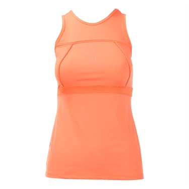 Lija Monumental Compression First Lap Tank - Persimmon