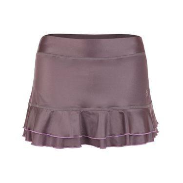 Sofibella Lilac Dream 12 Inch Skirt - Metallic Violet