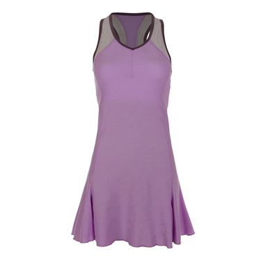 Sofibella Lilac Dream Racerback Dress - Lilac Melange