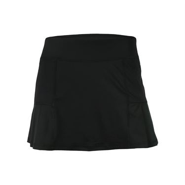 Head Pleated Skirt - Black