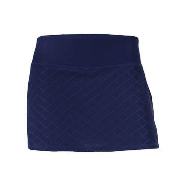Head Diamond Jacquard Skirt - Medieval Blue