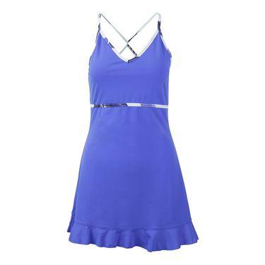 Jerdog Time Flies Twist Dress - Peri Blue