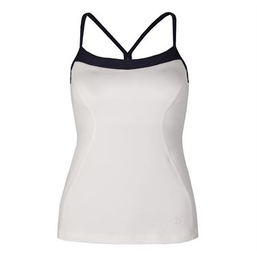 Sofibella Nautical Navy Athletic Cami - White