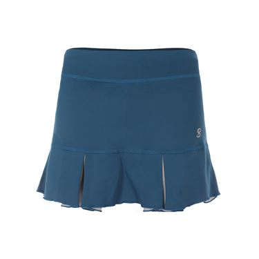 Sofibella Flavor of Wine 13 Inch Skirt - Tropico Blue/Metallic Ice