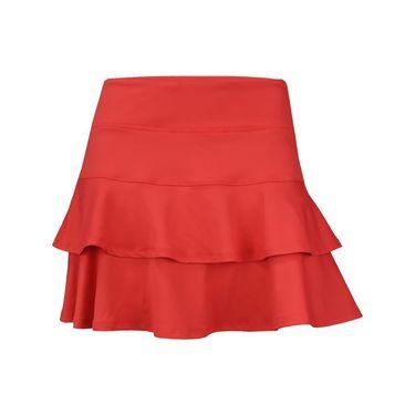 Lija Intense Focus Match Skirt - Lava Red