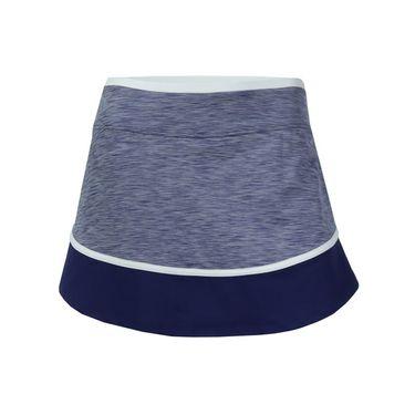 Lija Bold Pursuit Sharp Skirt - Violet/Ocean/White