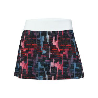 Lija Intense Focus Pace Skirt - Tile Print