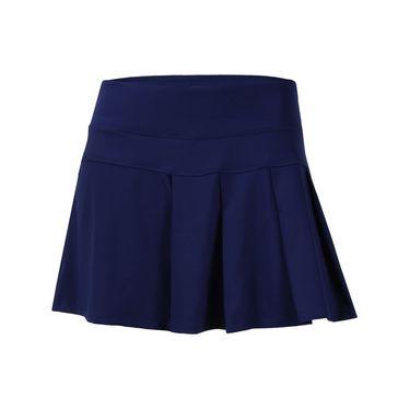 Lija Bold Pursuit Modern Pleated Skirt - Ocean