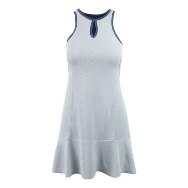 Lija Spring Twilight Legacy Dress - White/Indigo