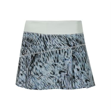 Lija Coastal Breeze Topspin Skirt - Swirl Print