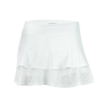 Lija Tropical Sunrise Match Skirt - White