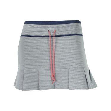 Lija Spring Twilight Vintage Skirt - White/Indigo