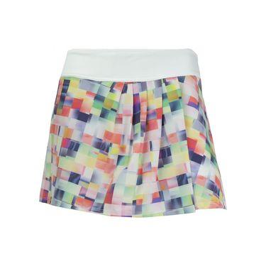 Lija Citrus Summer Speed Skirt - Pixel Print