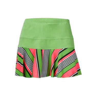 Jerdog Pink Apples New Marrowed Skirt - Green