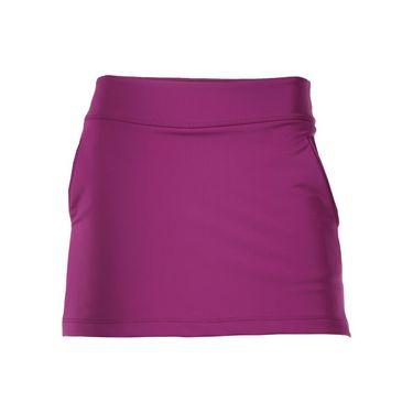 Jerdog Bubble A-Line Skirt - Plum 18202 DB2