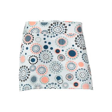 Jerdog On the Run Printed A Line Skirt - White/Print