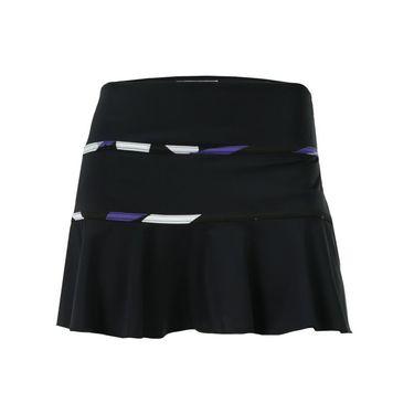 Jerdog Reflections Swing Skirt - Black/Print