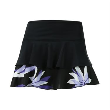 Jerdog Reflections On the Line Skirt - Black/Print