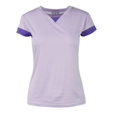 K Swiss Pace Cap Sleeve Top - Lilac