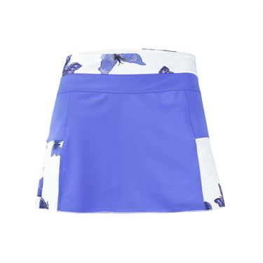 Jerdog Time Flies Ace Skirt - Peri Blue/Print