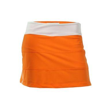 Jerdog Berry Chill All Spin Skirt - Tangerine/White