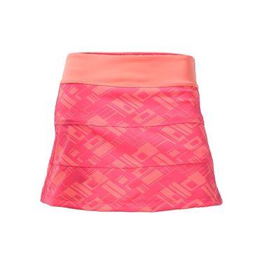 Jerdog Blush All Spin Skirt - Print/Peach