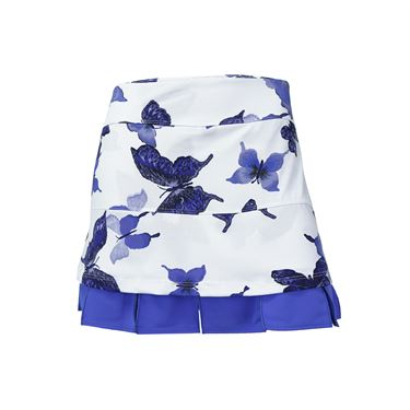 Jerdog Time Flies Doubles Skirt - Print/Peri Blue