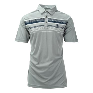 Travis Mathew Snapper Polo - Lunar Rock Griffin