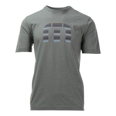 Travis Mathew Corn Flakes Tee - Heather Grey