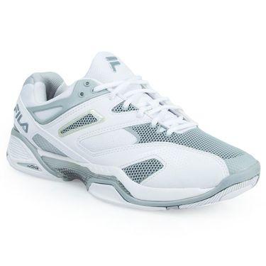 Fila Sentinel Mens Tennis Shoe - White/ Silver