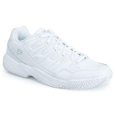 Fila Summerlin Mens Tennis Shoe - White/ Silver