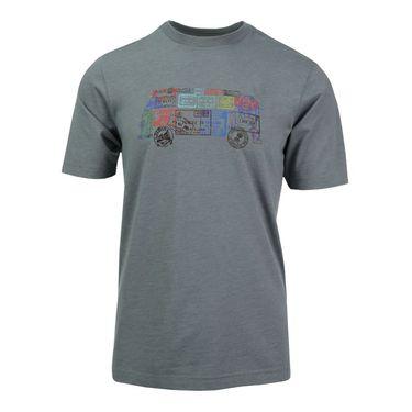 Travis Mathew Passported T Shirt - Heather Grey