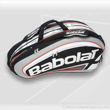 Babolat 2012 Team Line Black 12 Pack Racquet Bag 751038-105