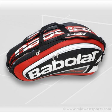 Babolat 2012 Team Line Red 12 Pack Racquet Bag 751038-104