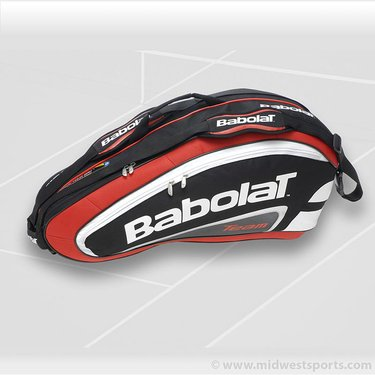 Babolat Team Line 6 Pack Red Tennis Bag 751055-104