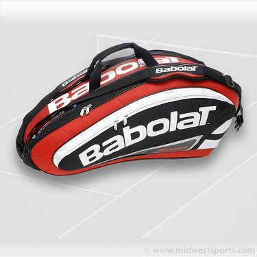 Babolat Team Line 9 Pack Red Tennis Bag 751054-104