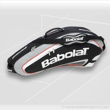 Babolat Team Line Black 3 Pack Tennis Bag 751056-105