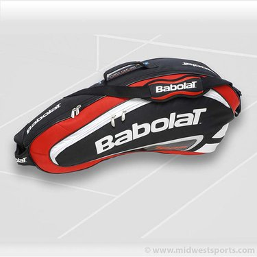 Babolat 2012 Team Line Red 3 Pack Tennis Bag 751056-104