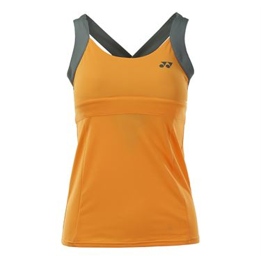 Yonex US Open Bencic Tank - Light Orange