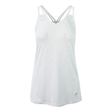 Head No Limit Perforated Tank - Stark White