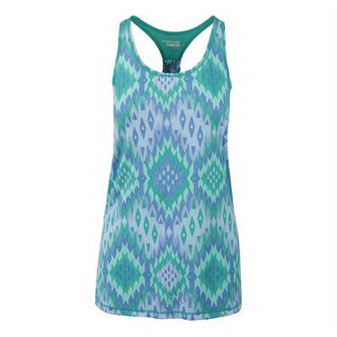 Head Serena Print Block Tank - Columbia