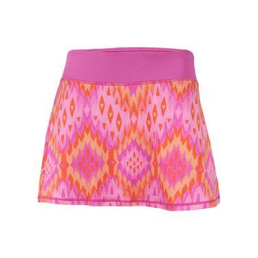 Head Bargello Print Zoom Skirt - Rose Violet