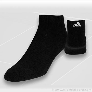 adidas All Sport Low Cut Black 2-Pack Socks