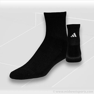 adidas All Sport Half Crew Black 2-Pack Socks
