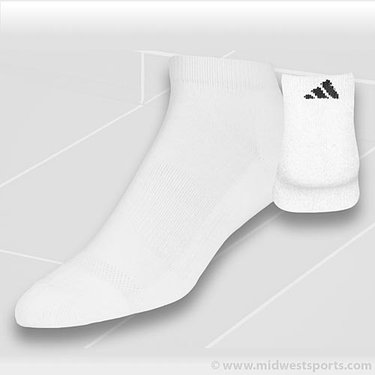 adidas All Sport Low Cut White 2-Pack Socks