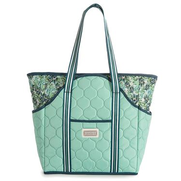 Cinda B Purely Peacock Tennis Back Pack - Green