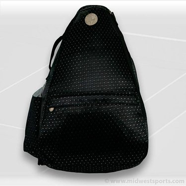 Jet Pac Black Dot Sling Tennis Bag 271-02-12