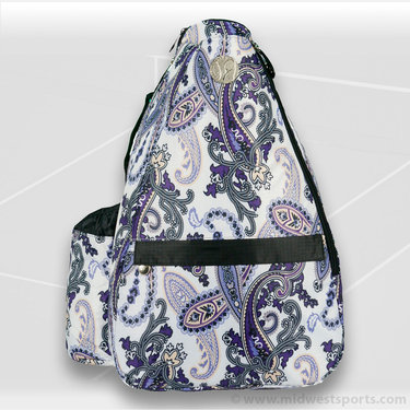 Jet Pac Purple Paisley Sling Tennis Bag