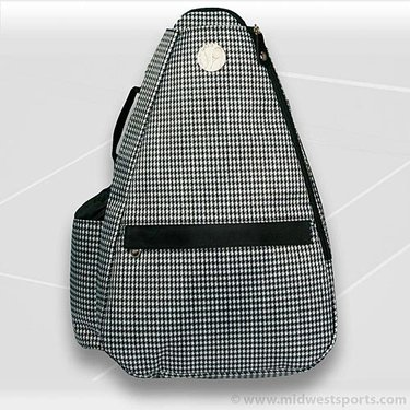 Jet Pac Hounds Tooth Sling Tennis Bag 271-69-11