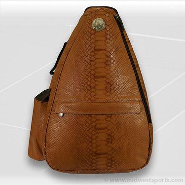 Jet Pac Reptilian Bronze Sling Tennis Bag 272-84-12